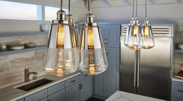 kitchen island lighting idea