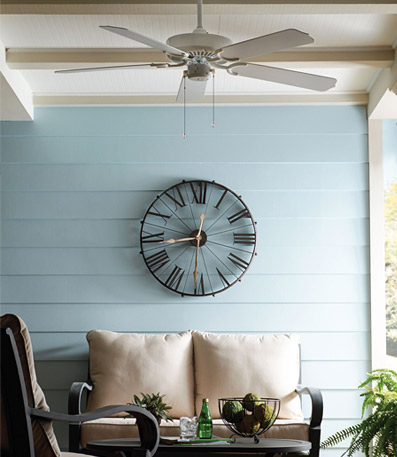 outdoor white ceiling fan