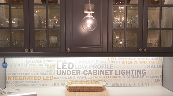 under-cabinet LED lights