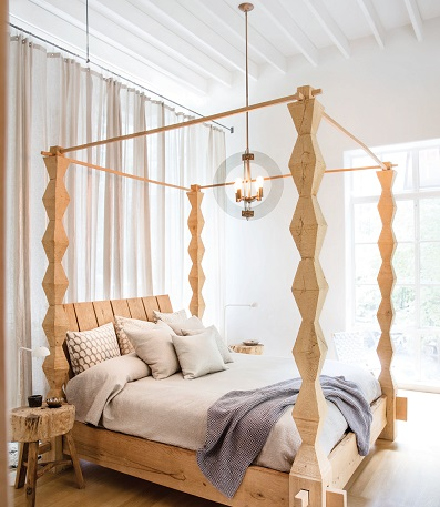 Bedroom Lighting - Solstice pendant by Fredrick Ramond